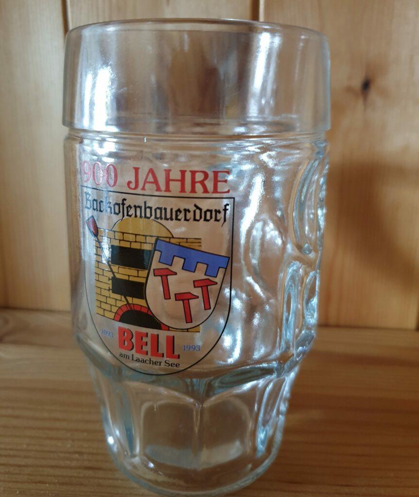 Backofenbauerndorf Bierglas