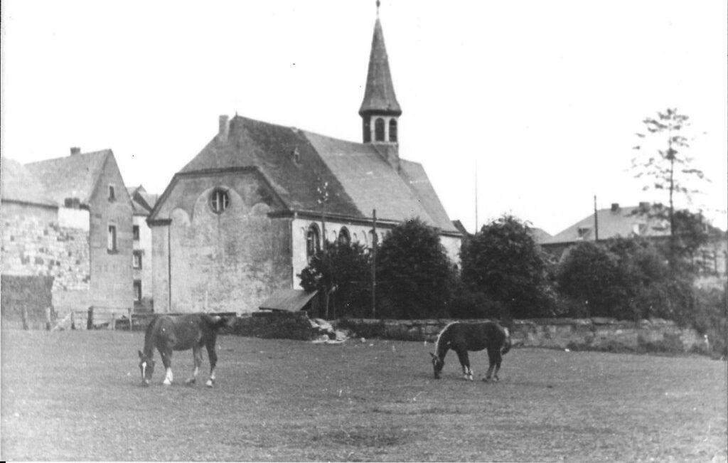 Nikolauskapelle früher