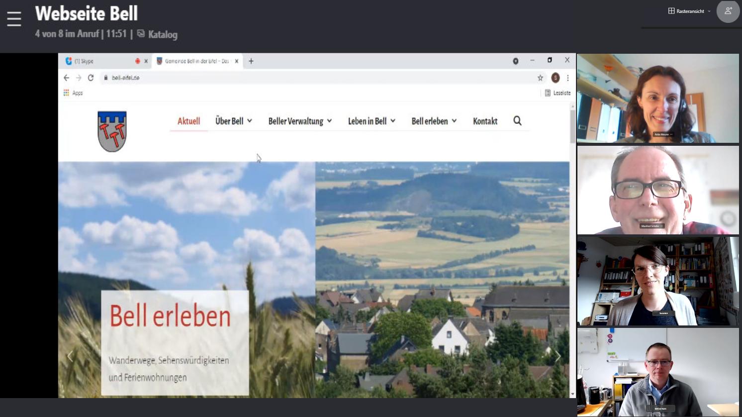 Screenshot_Homepage_Bell